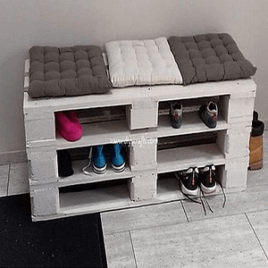Entryway Table Pallet Furniture